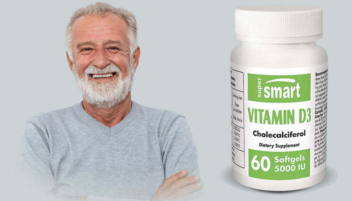 Vitamin D3 5000: une forme biodisponible de la vitamine D3, au dosage puissant, pour une absorption optimale